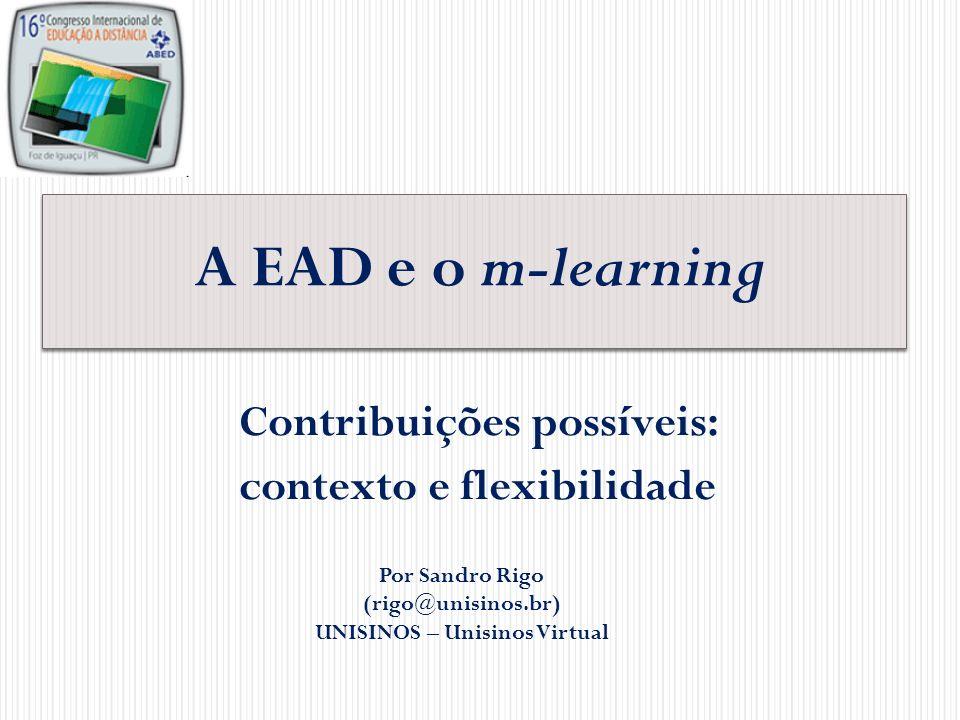 Contribuições possíveis: contexto e flexibilidade