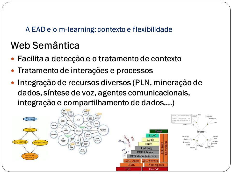 A EAD e o m-learning: contexto e flexibilidade