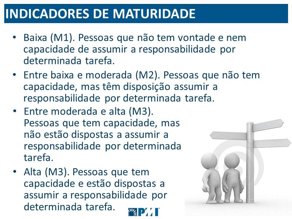 INDICADORES DE MATURIDADE