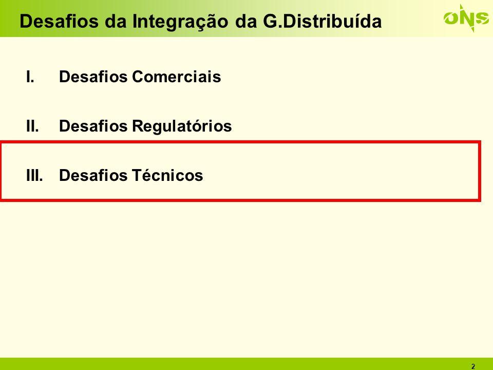 Desafios da Integração da G.Distribuída