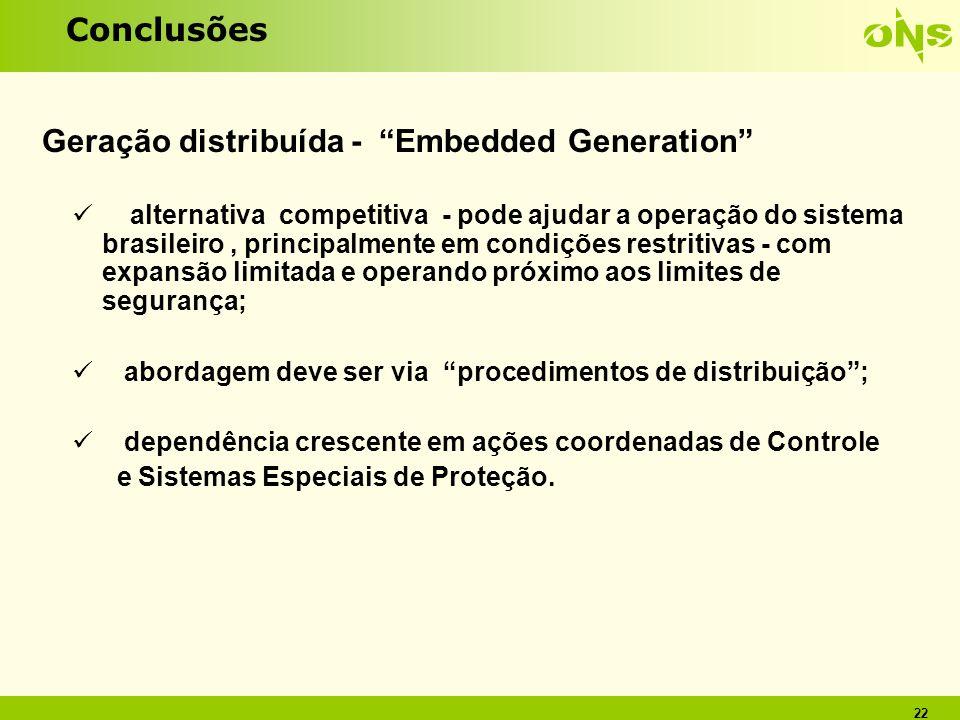 Geração distribuída - Embedded Generation