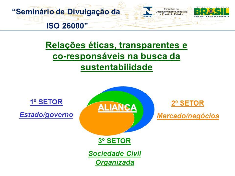 Seminário de Divulgação da Sociedade Civil Organizada