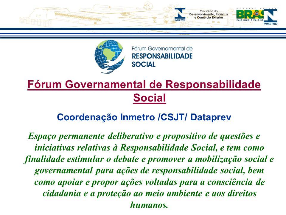 Fórum Governamental de Responsabilidade Social