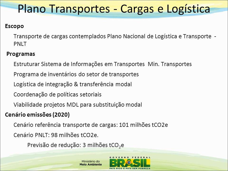 Plano Transportes - Cargas e Logística