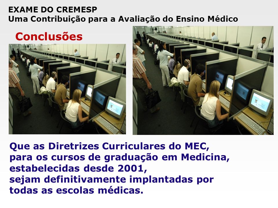 Conclusões Que as Diretrizes Curriculares do MEC,