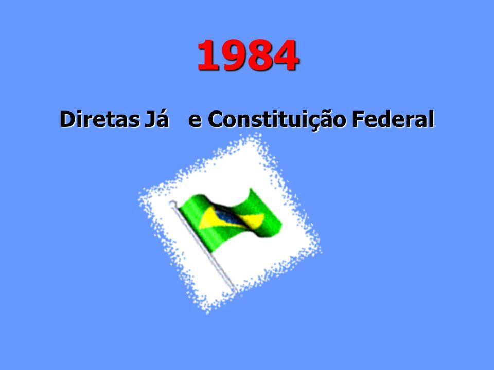 Diretas Já e Constituição Federal