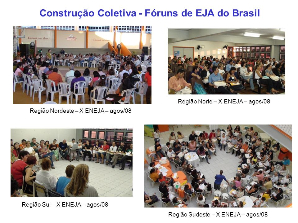 Construção Coletiva - Fóruns de EJA do Brasil
