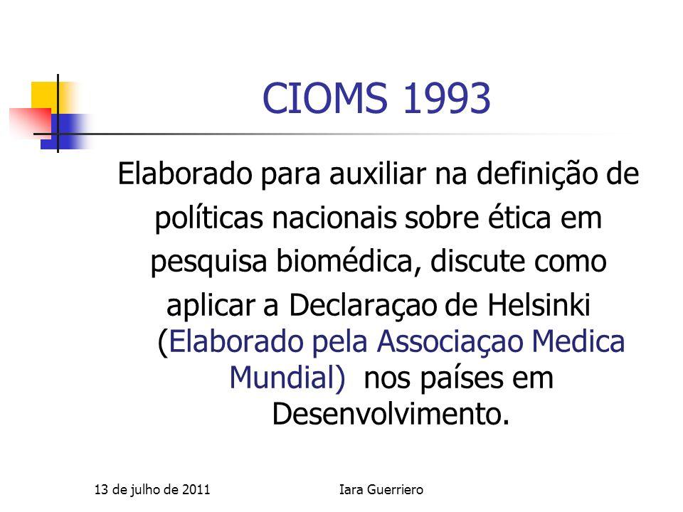 CIOMS 1993