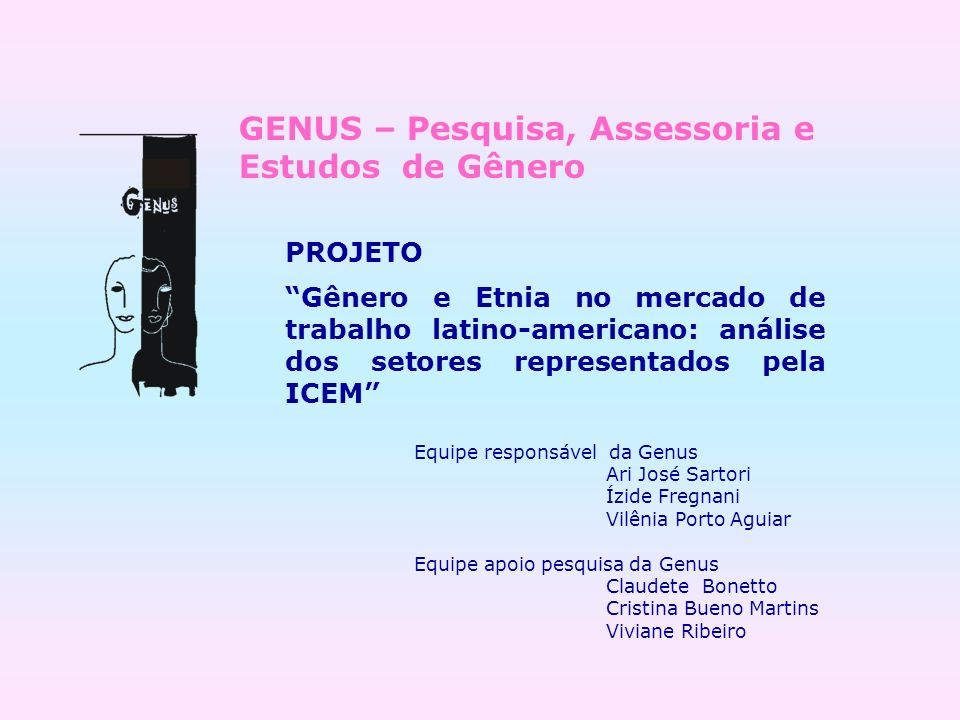 GENUS – Pesquisa, Assessoria e Estudos de Gênero