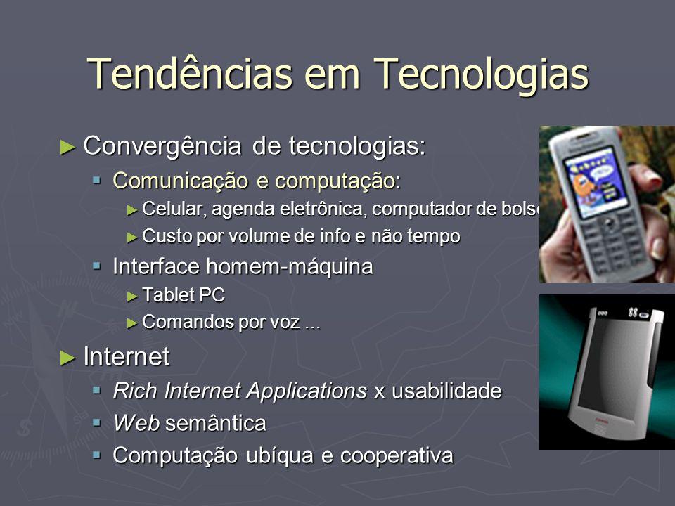 Tendências em Tecnologias