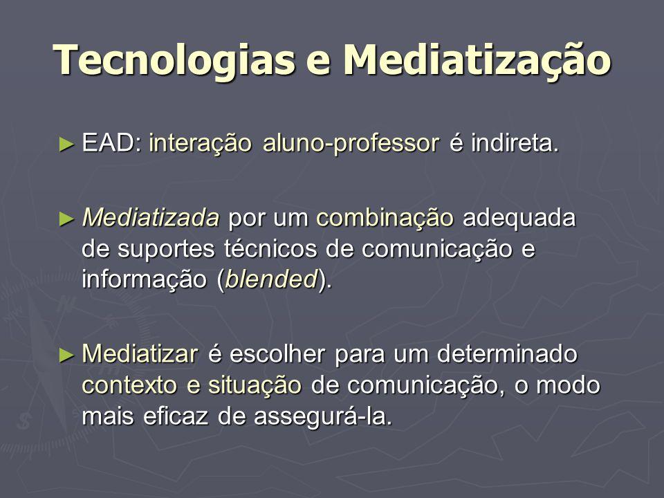 Tecnologias e Mediatização