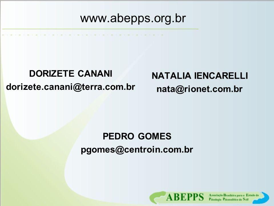 www.abepps.org.br DORIZETE CANANI dorizete.canani@terra.com.br