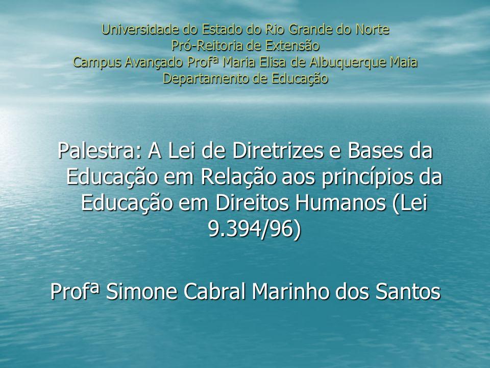 Profª Simone Cabral Marinho dos Santos