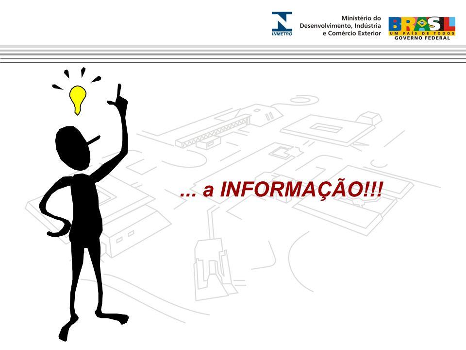 ... a INFORMAÇÃO!!!