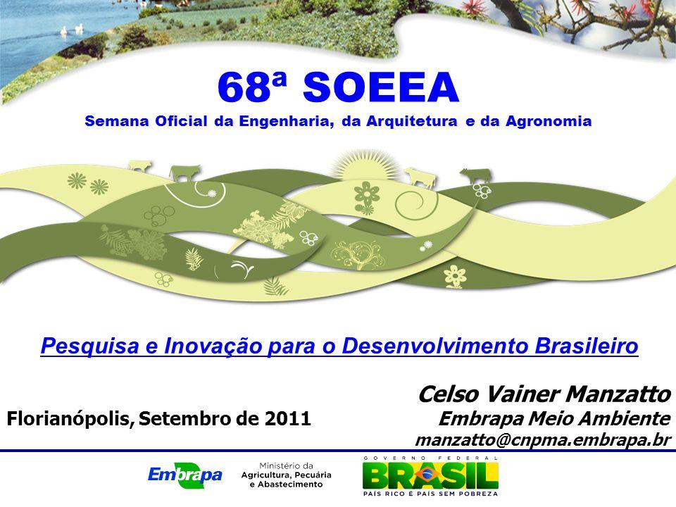 68ª SOEEA Pesquisa e Inovação para o Desenvolvimento Brasileiro