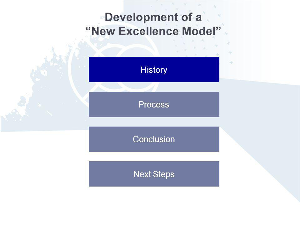 Development of a New Excellence Model