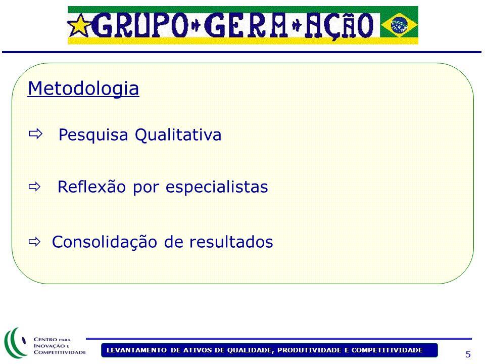 Metodologia Pesquisa Qualitativa Reflexão por especialistas