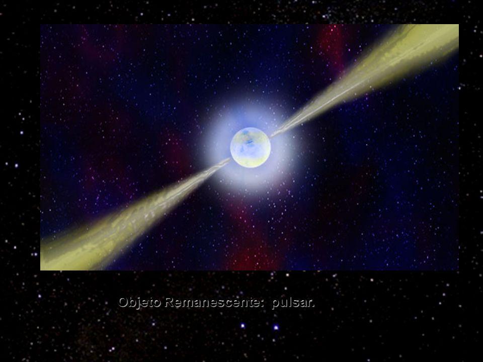Objeto Remanescente: pulsar.