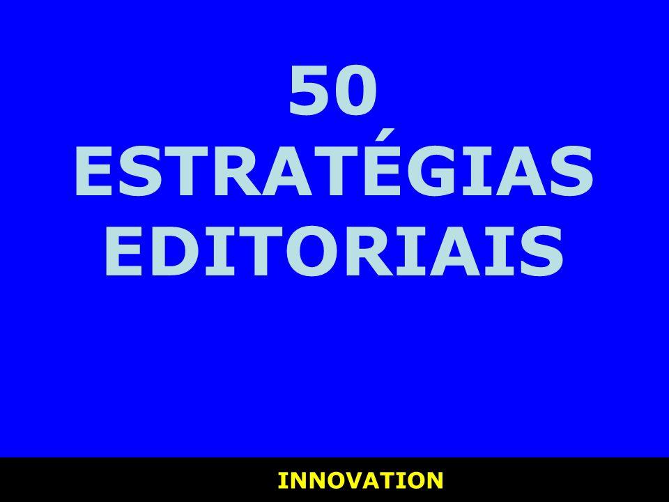 50 ESTRATÉGIAS EDITORIAIS
