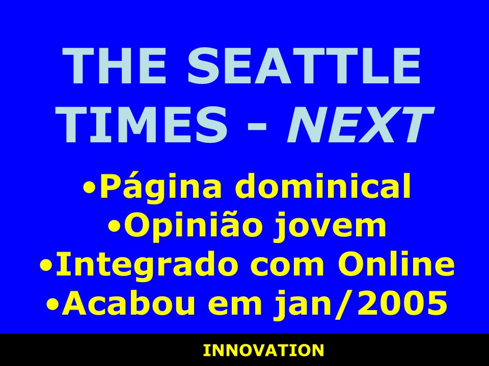 THE SEATTLE TIMES - NEXT