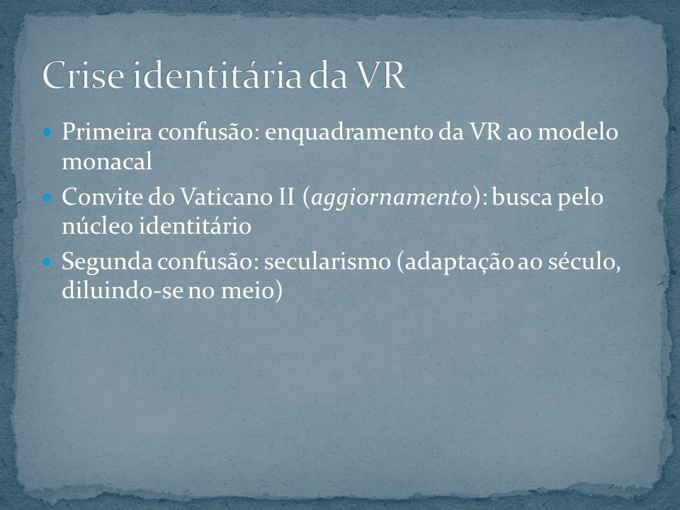 Crise identitária da VR
