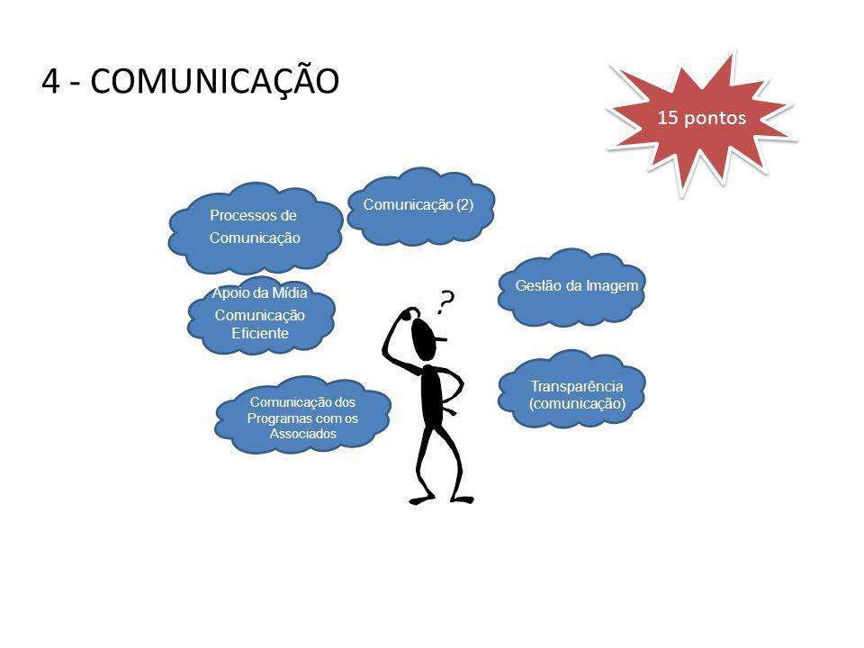4 - COMUNICAÇÃO 15 pontos. Use slide 5-4 to discuss the purpose/goals of. measures. 5 minutes. Review the two main purposes/goals of measures.