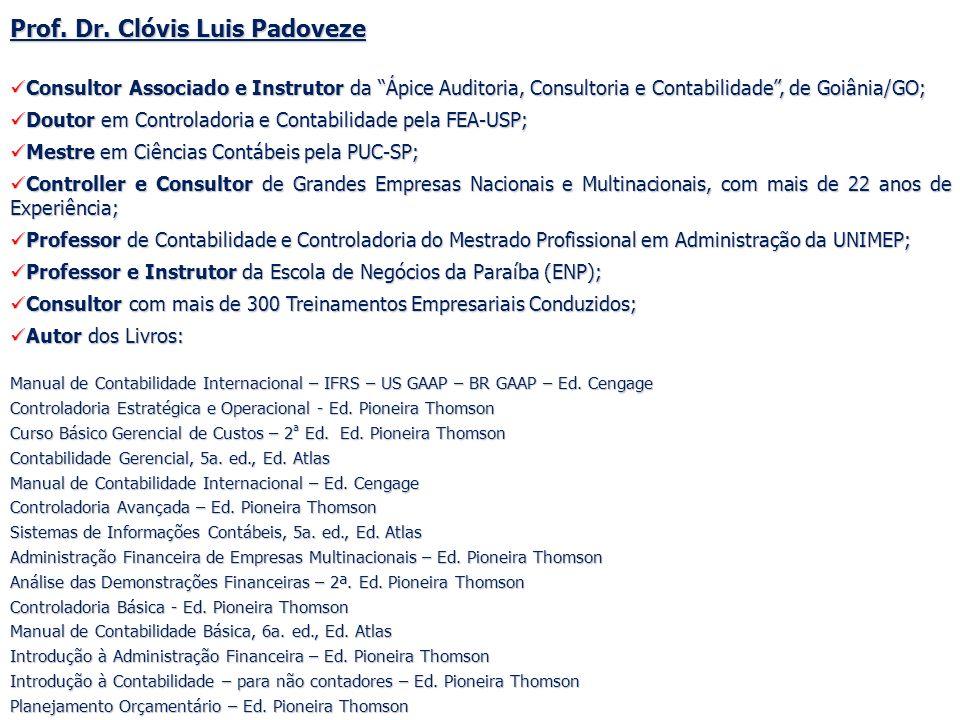 Prof. Dr. Clóvis Luis Padoveze