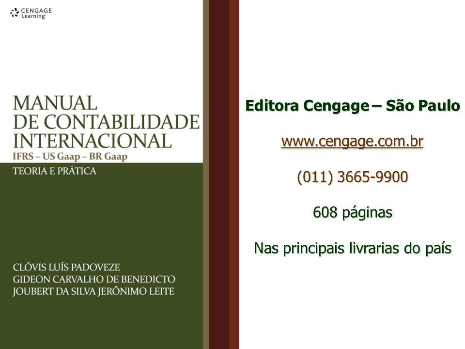 Editora Cengage – São Paulo