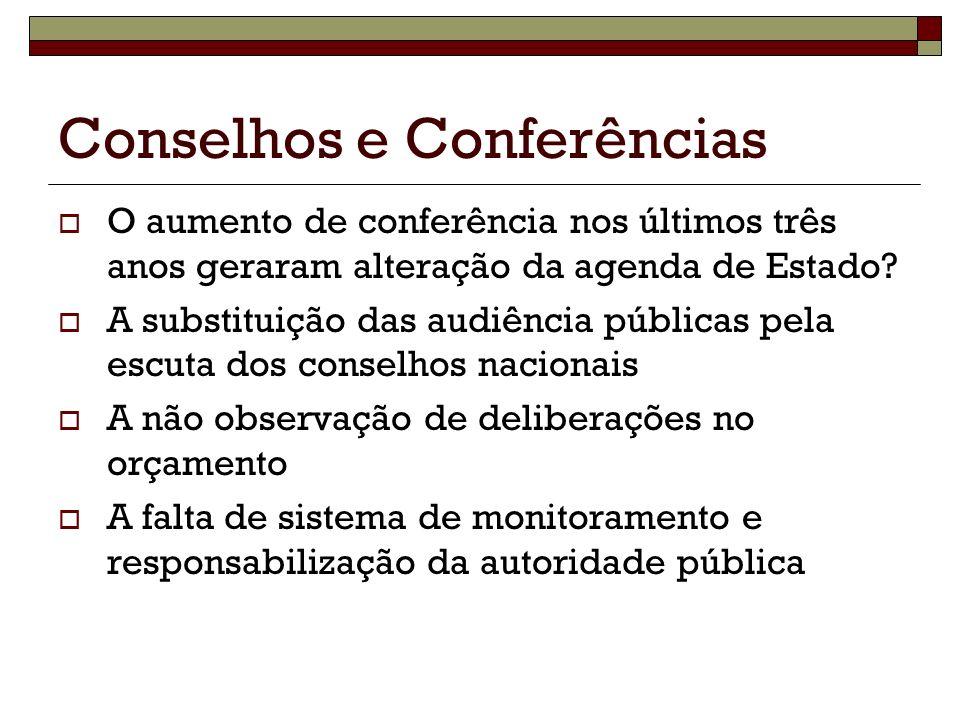 Conselhos e Conferências