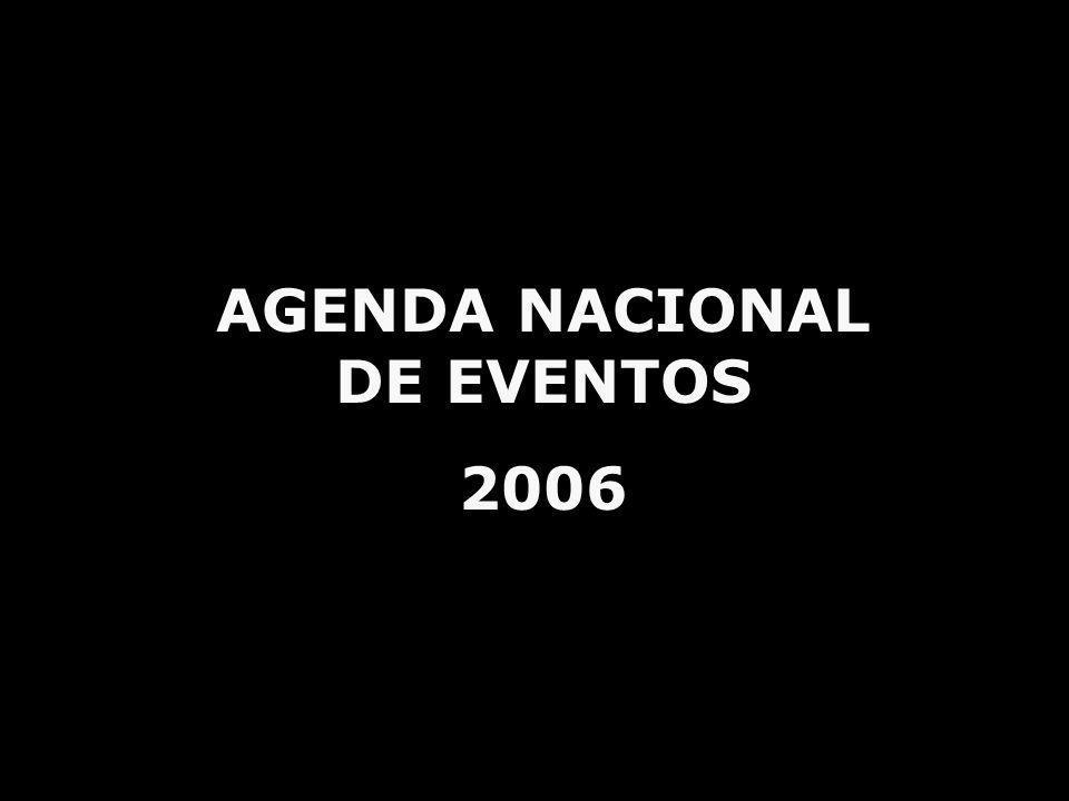 AGENDA NACIONAL DE EVENTOS