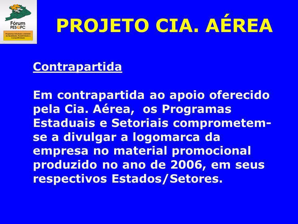 PROJETO CIA. AÉREA Contrapartida