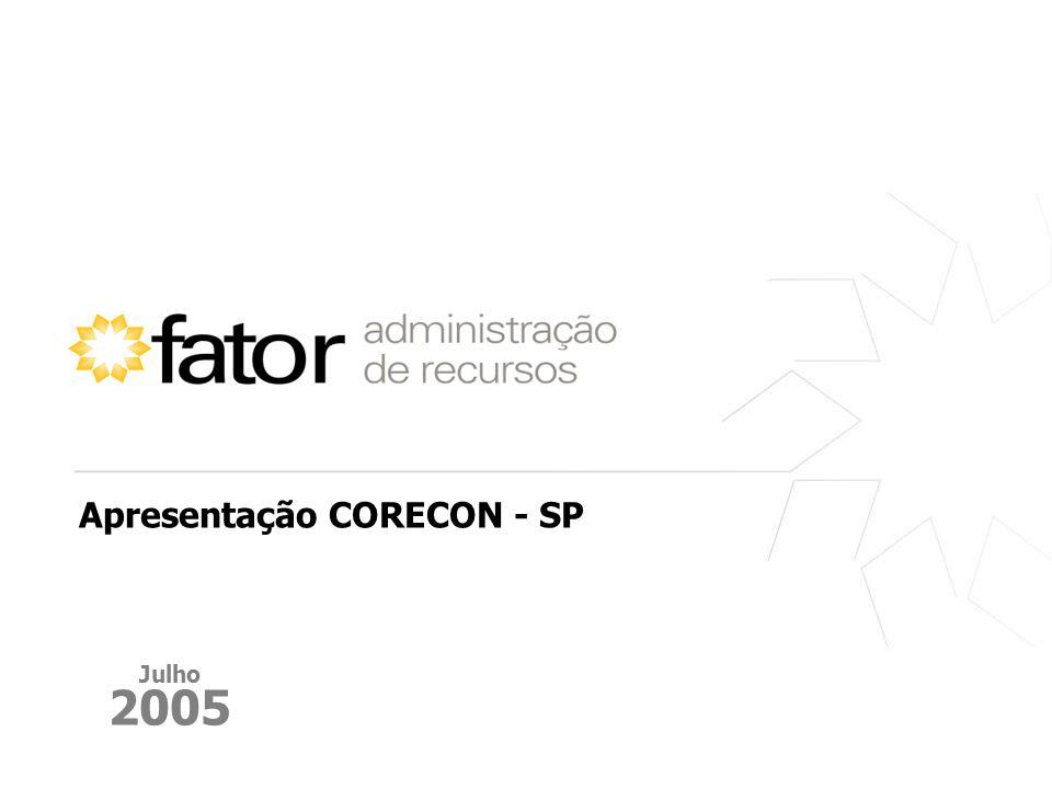 Apresentação CORECON - SP