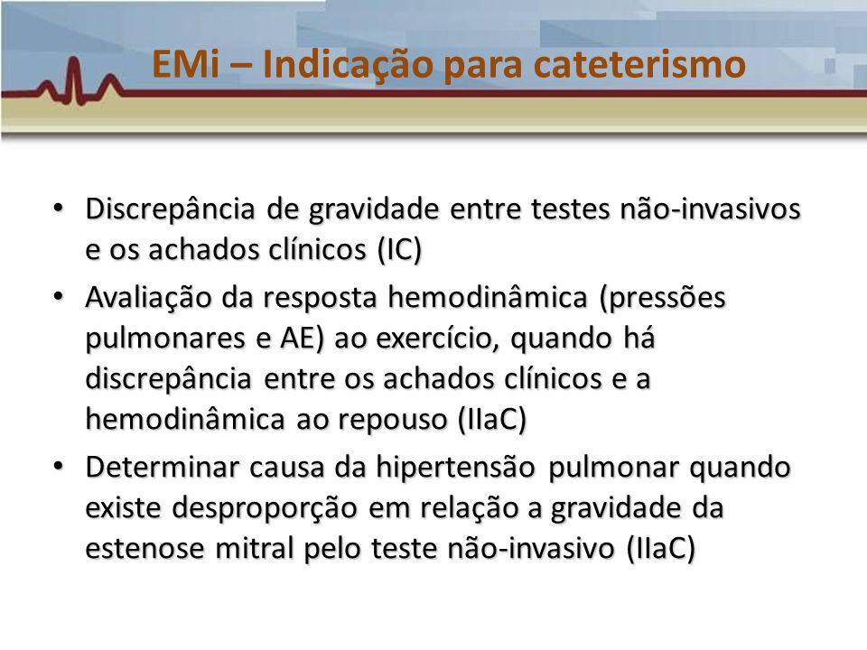EMi – Indicação para cateterismo