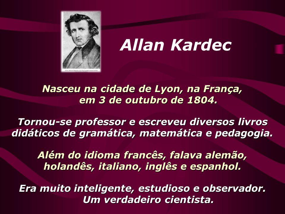 Nasceu na cidade de Lyon, na França, em 3 de outubro de 1804.