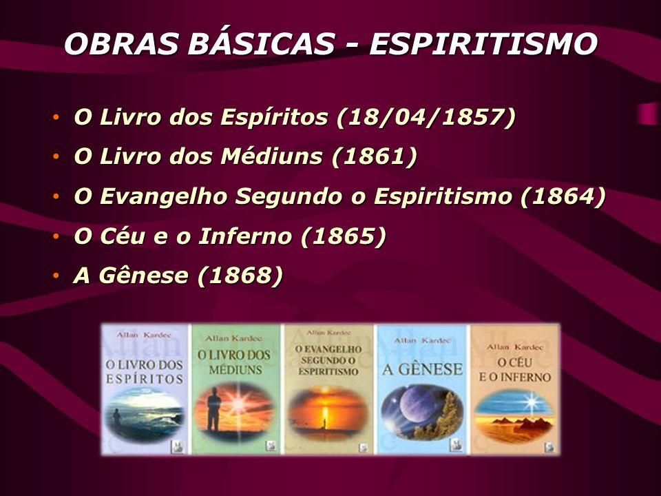 OBRAS BÁSICAS - ESPIRITISMO