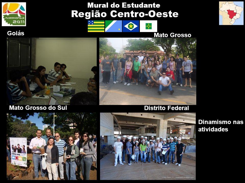 Região Centro-Oeste Mural do Estudante Goiás Mato Grosso