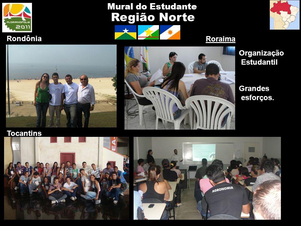 Região Norte Mural do Estudante Rondônia Roraima Organização