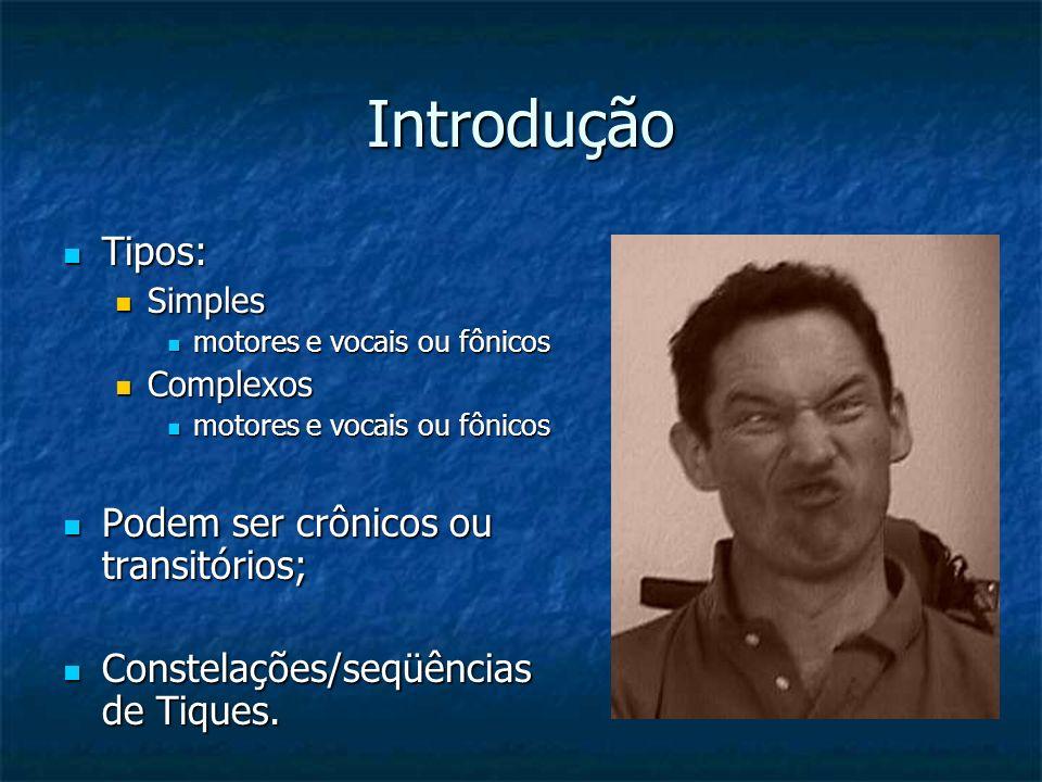 Introdução Tipos: Podem ser crônicos ou transitórios;