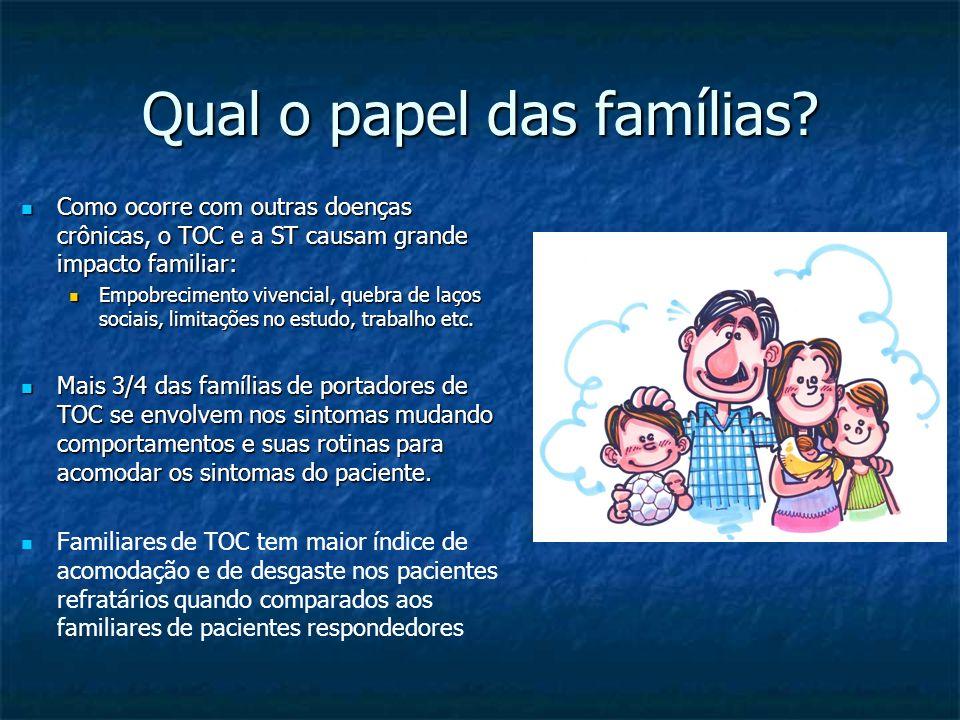 Qual o papel das famílias