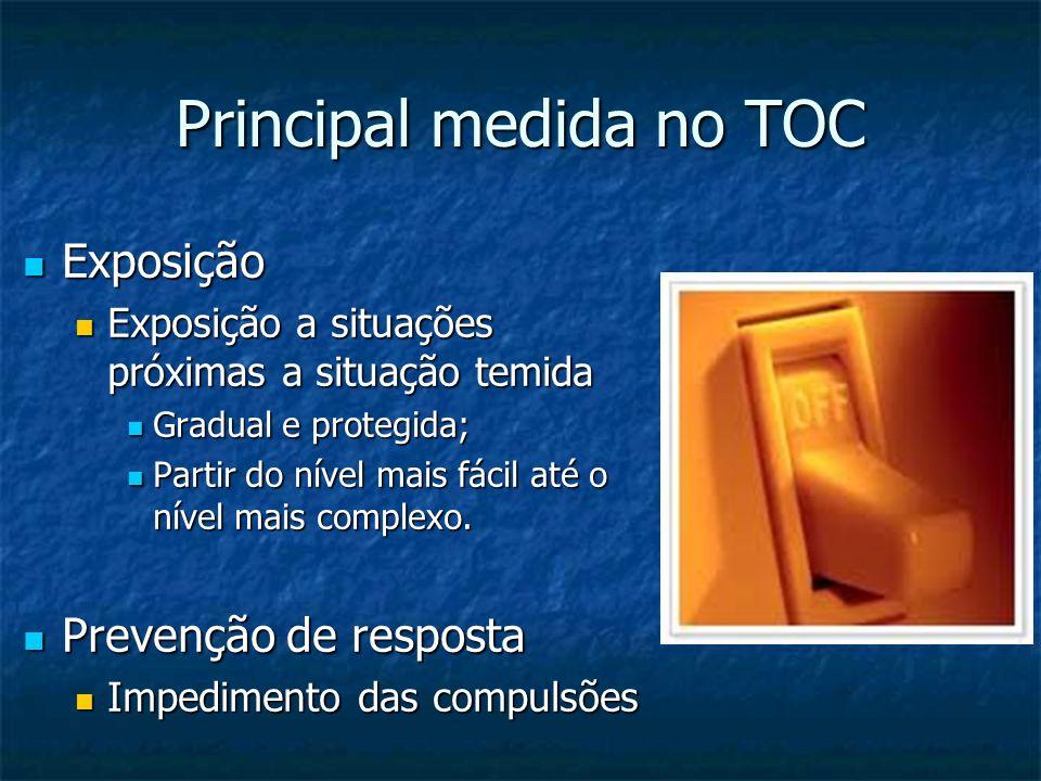 Principal medida no TOC
