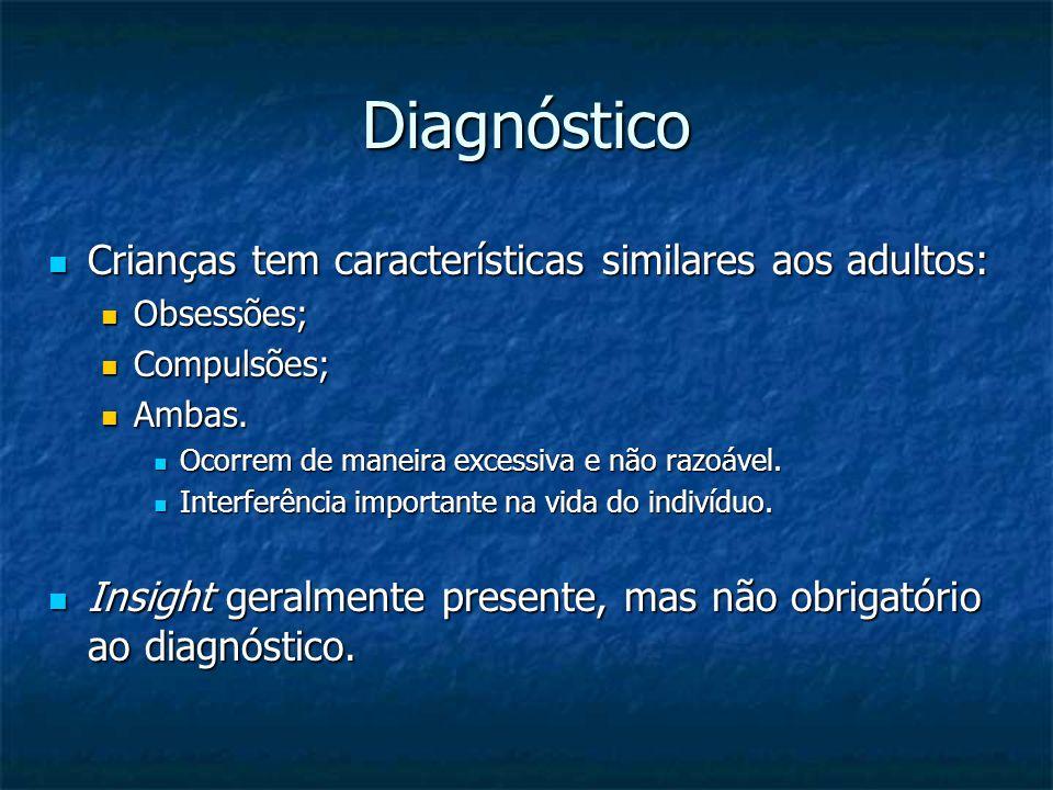 Diagnóstico Crianças tem características similares aos adultos: