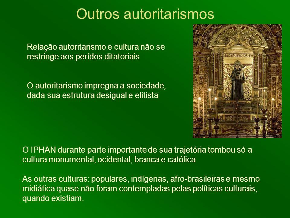 Outros autoritarismos