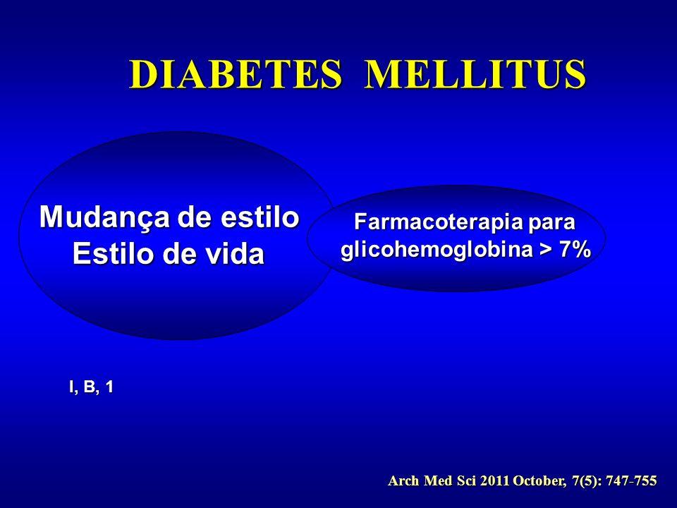 glicohemoglobina > 7%