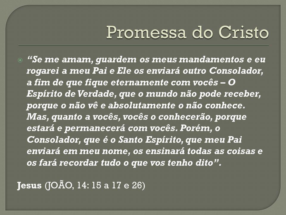 Promessa do Cristo