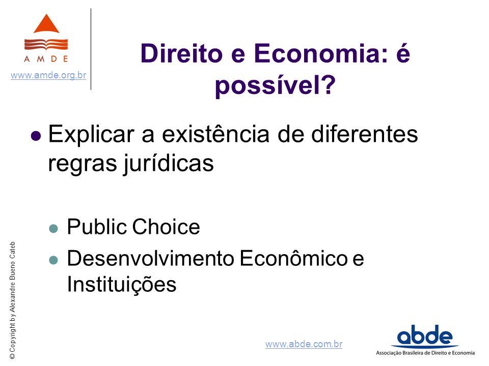 Direito e Economia: é possível
