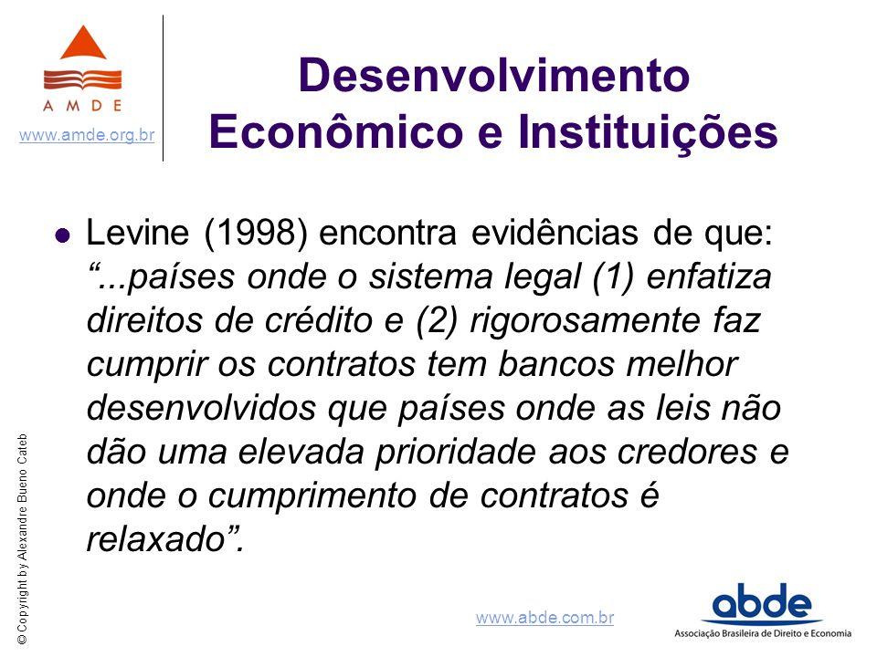 Desenvolvimento Econômico e Instituições