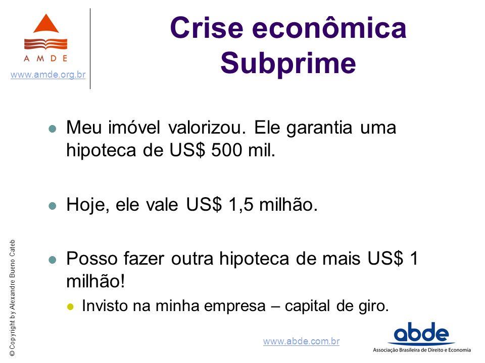 Crise econômica Subprime