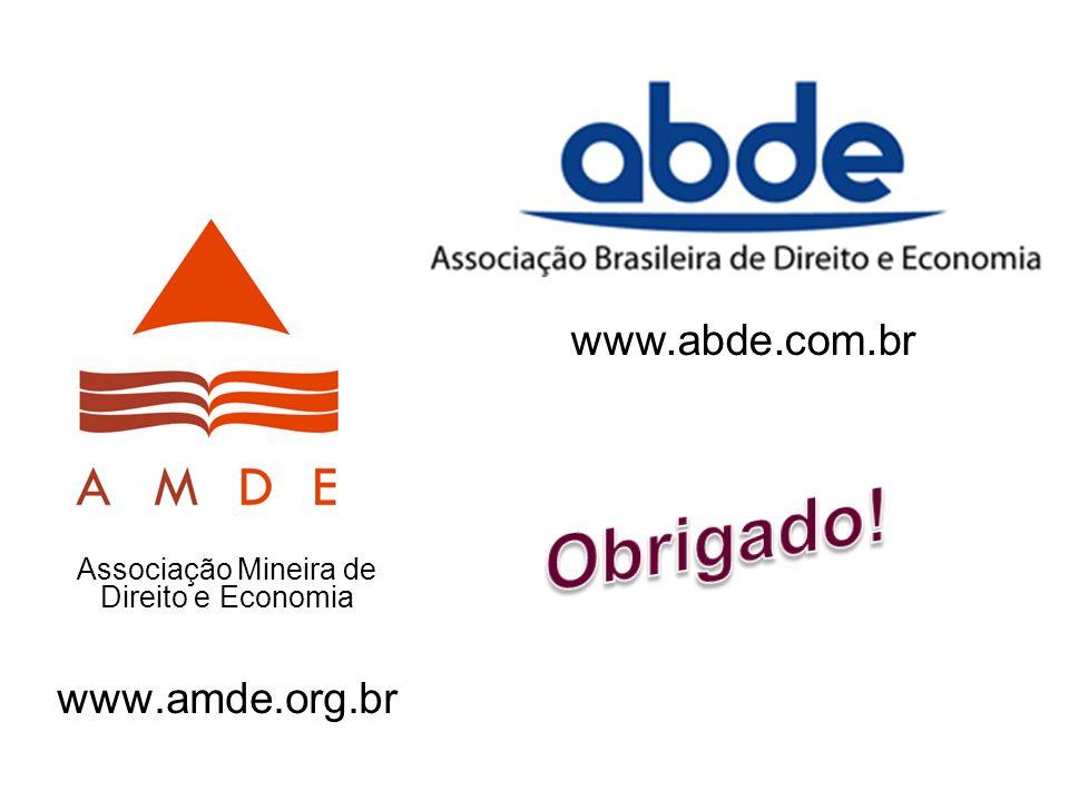 Associação Mineira de Direito e Economia www.amde.org.br
