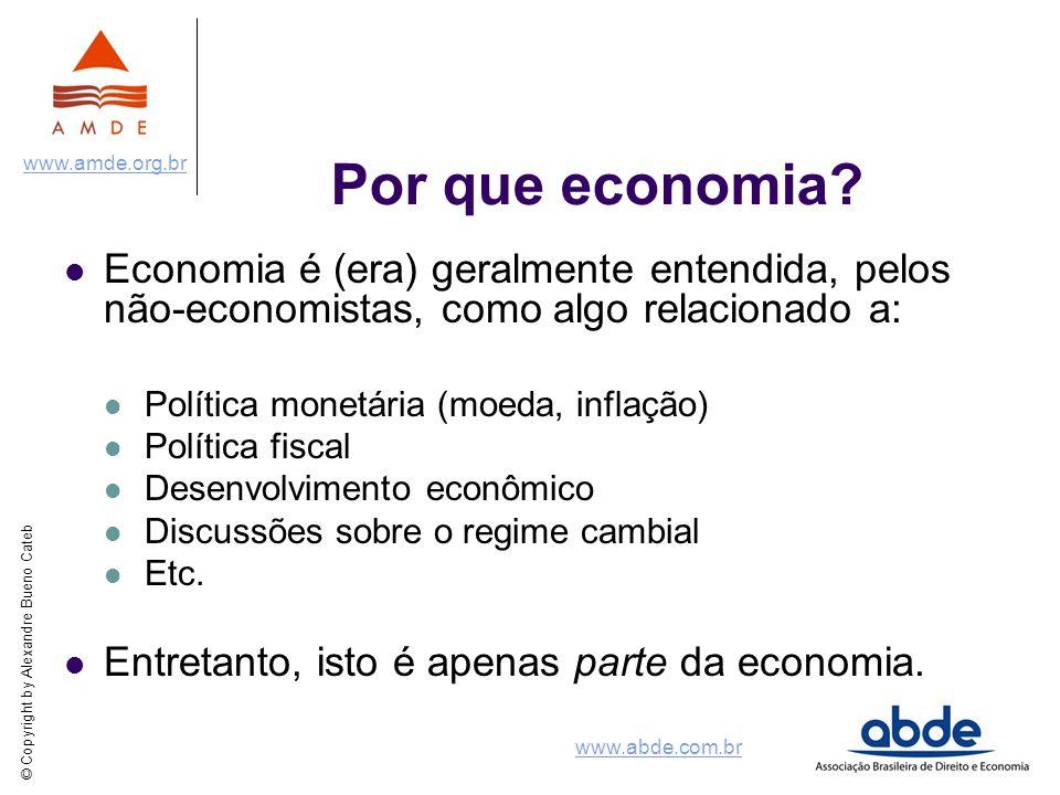 Por que economia Economia é (era) geralmente entendida, pelos não-economistas, como algo relacionado a:
