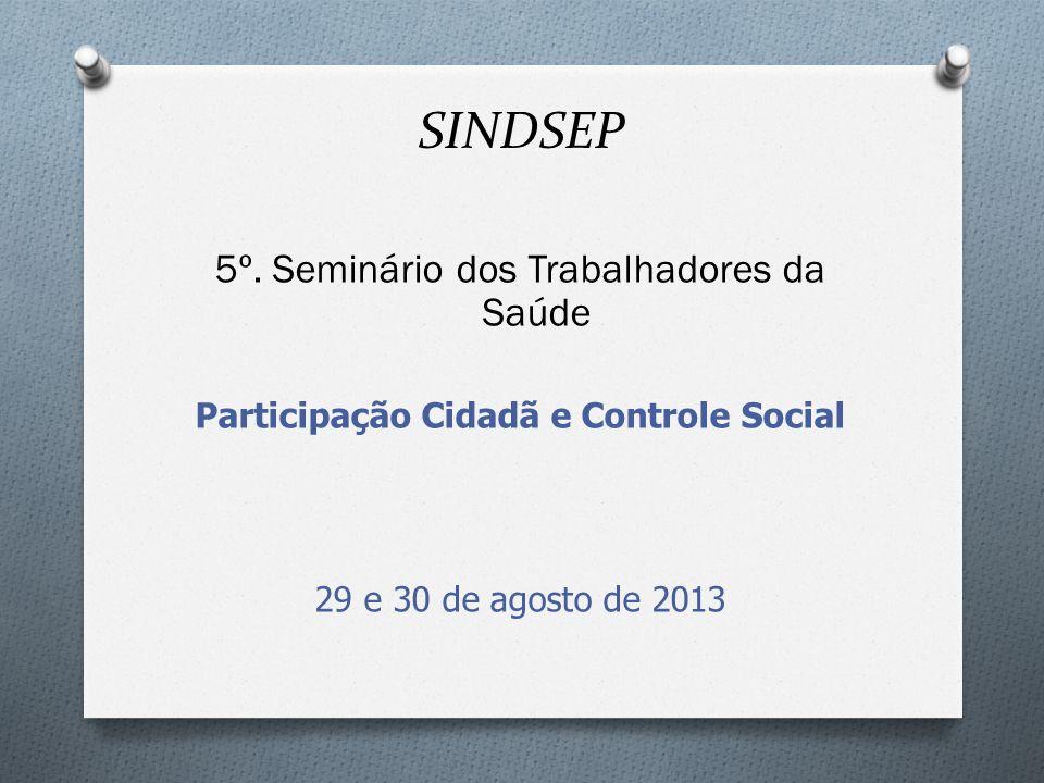 Participação Cidadã e Controle Social